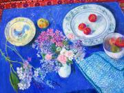 012. Still Life with Blue Bowl