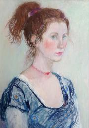 009. Girl with Red Necklace