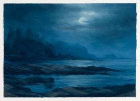 084. Tantallon by Moonlight