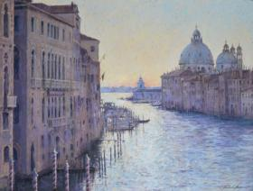 178. First Light on the Grand Canal