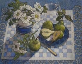 262. Still Life with Pears