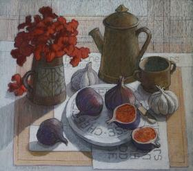 260. Still Life with Figs