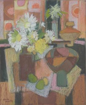 130. Still Life with Flowers and Pears